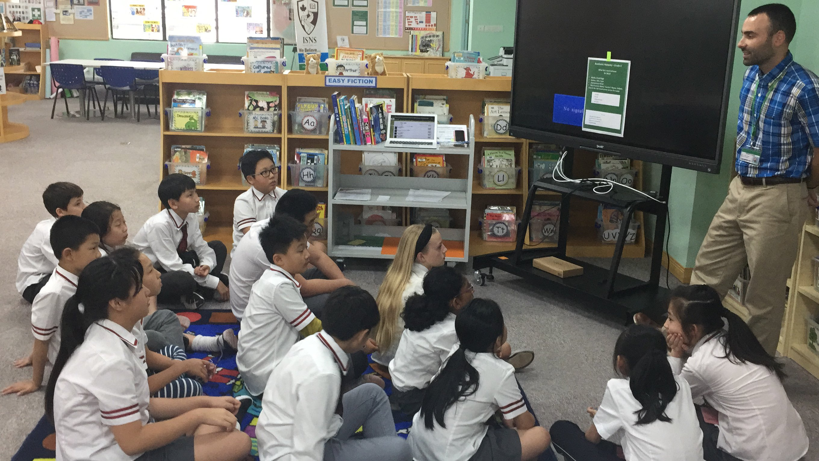 Learning from Our Librarian - Mr. Chase